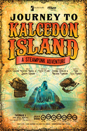 Kiss the Giraffe Productions - Current Production - Journey to Kalcedon Island